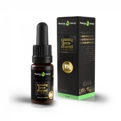CBD E-Liquid 1% |10ml.|PREMIUM BLACK HEMP FLAVOR