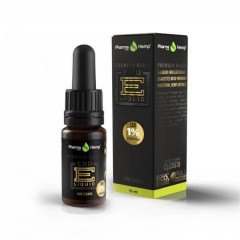 CBD E-Liquid 1% |10ml.|PREMIUM BLACK LIME FLAVOR