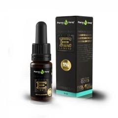 CBD E-Liquid 1% |10ml.|PREMIUM BLACK MENTHOL FLAVOR