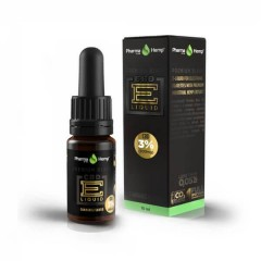 CBD E-Liquid 3% |10ml.|PREMIUM BLACK HEMP FLAVOR