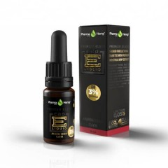 CBD E-Liquid 3% |10ml.|PREMIUM BLACK CHERRY FLAVOR