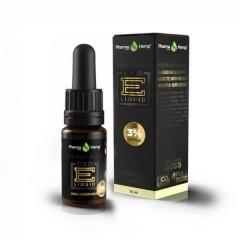 CBD E-Liquid 3% |10ml.|PREMIUM BLACK VANILLA FLAVOR