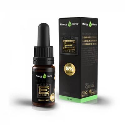 CBD E-Liquid 5% |10ml.|PREMIUM BLACK HEMP FLAVOR